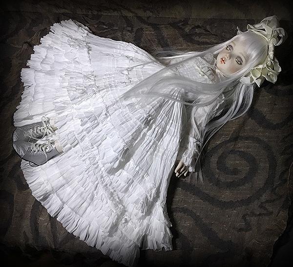 太山レミ作 オリジナルビスクドール 創作人形 E47 ※送料無料_画像4