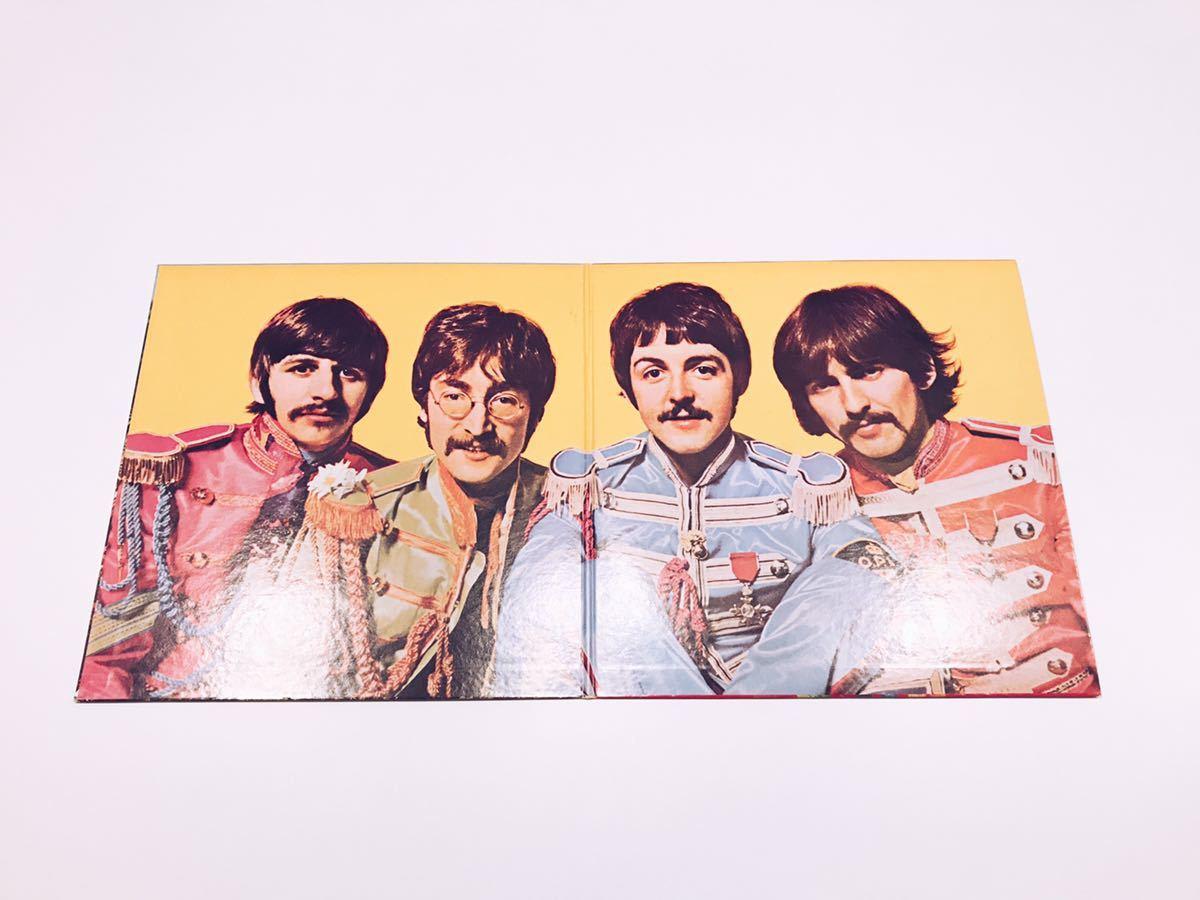LPレコード ビートルズ The Beatles 「No.8 / オールディーズ」「No.9 / サージェント・ペパーズ・ロンリー・ハーツ・クラブ・バンド」_画像8