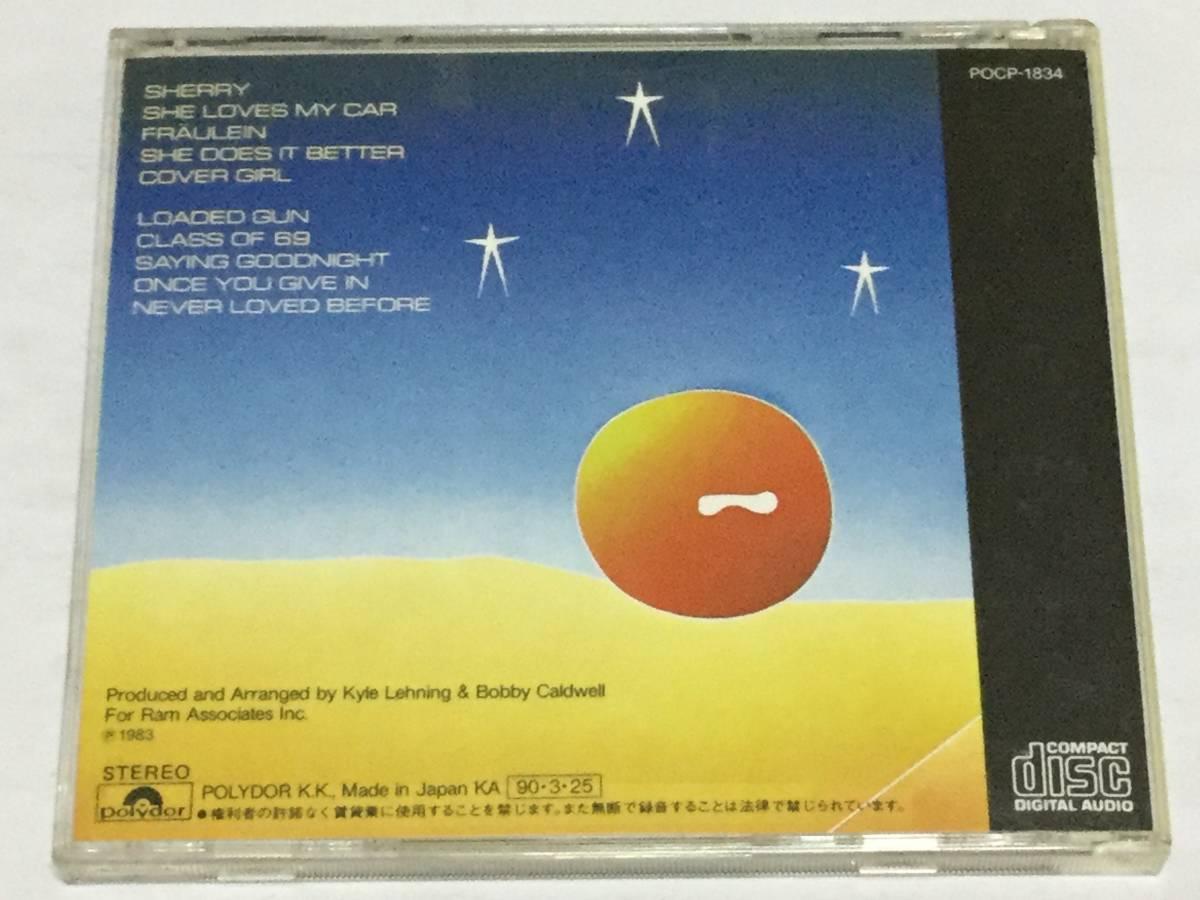 国内盤CD/AOR/ボビー・コールドウェル/オーガスト・ムーン #TOTO ジェフ・ポーカロ/デヴィッド・ハンゲイト 送料\180_画像2