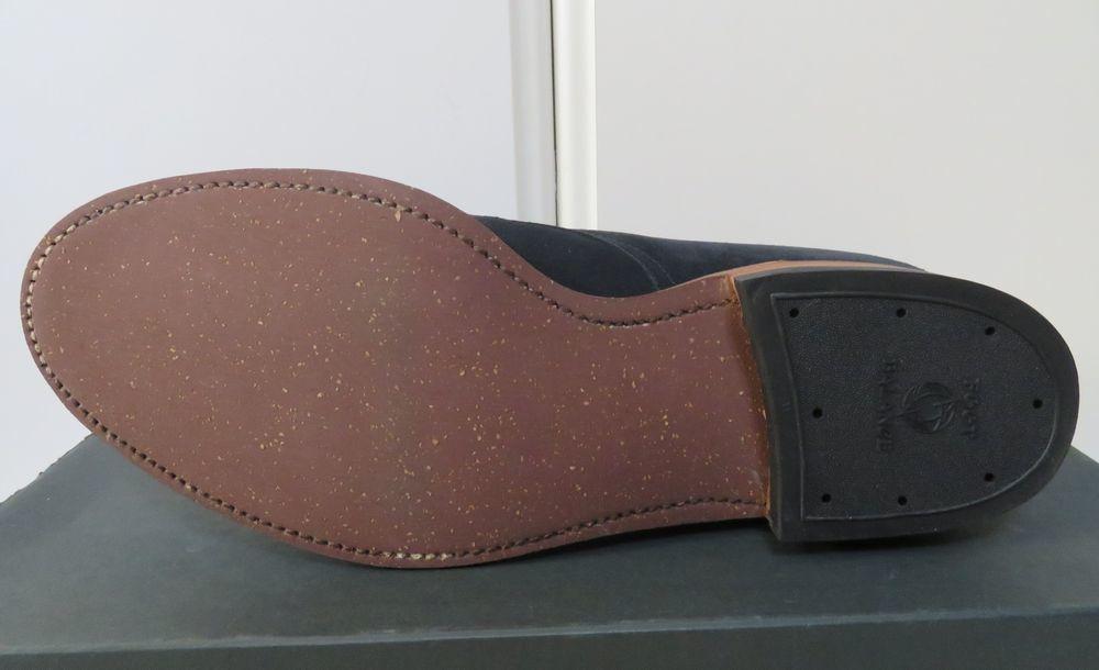 ■新品【オールデン/Alden】×【シップス別注】極上ブーツ インディー スエード ネイビー 9(27.5cm) D #1 モディファイドラスト_画像5