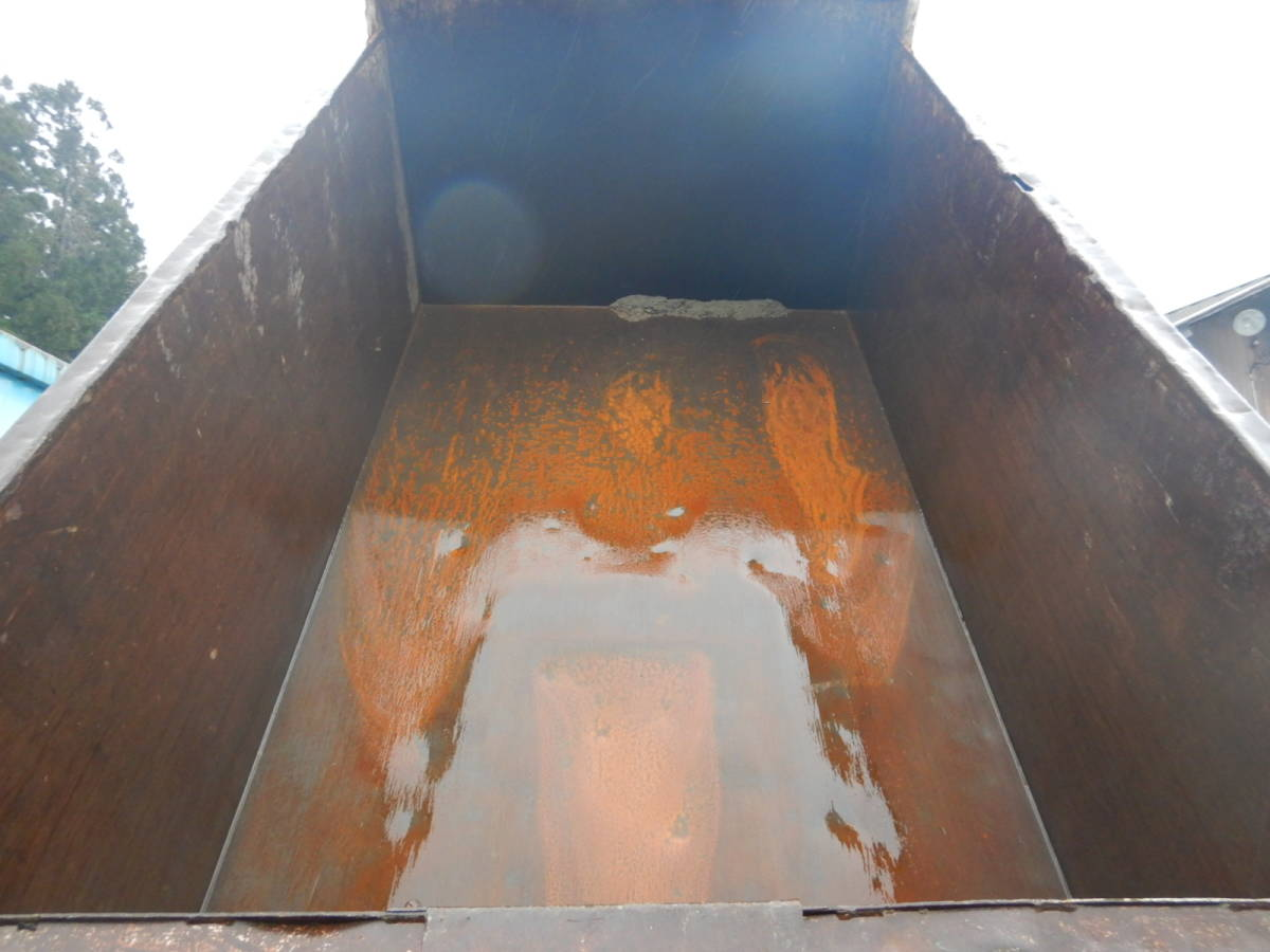 【CH15212】H19年 日野 レンジャー ダンプ 土砂禁ダンプ 深ダンプ MT6速 最大積載量3350kg 内寸340×198×120 税込み!_画像5