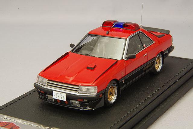 イグニッションモデル x トミーテック 1/43 西部警察 マシン RS-3 【レジン製】T-IG4322 / 日産 スカイライン R30 RSターボ_画像1