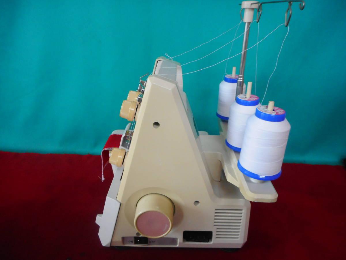 専門店より ジューキ babylock BL3-428 日本製 1本針3本糸ロックミシン 静音 丈夫_画像6