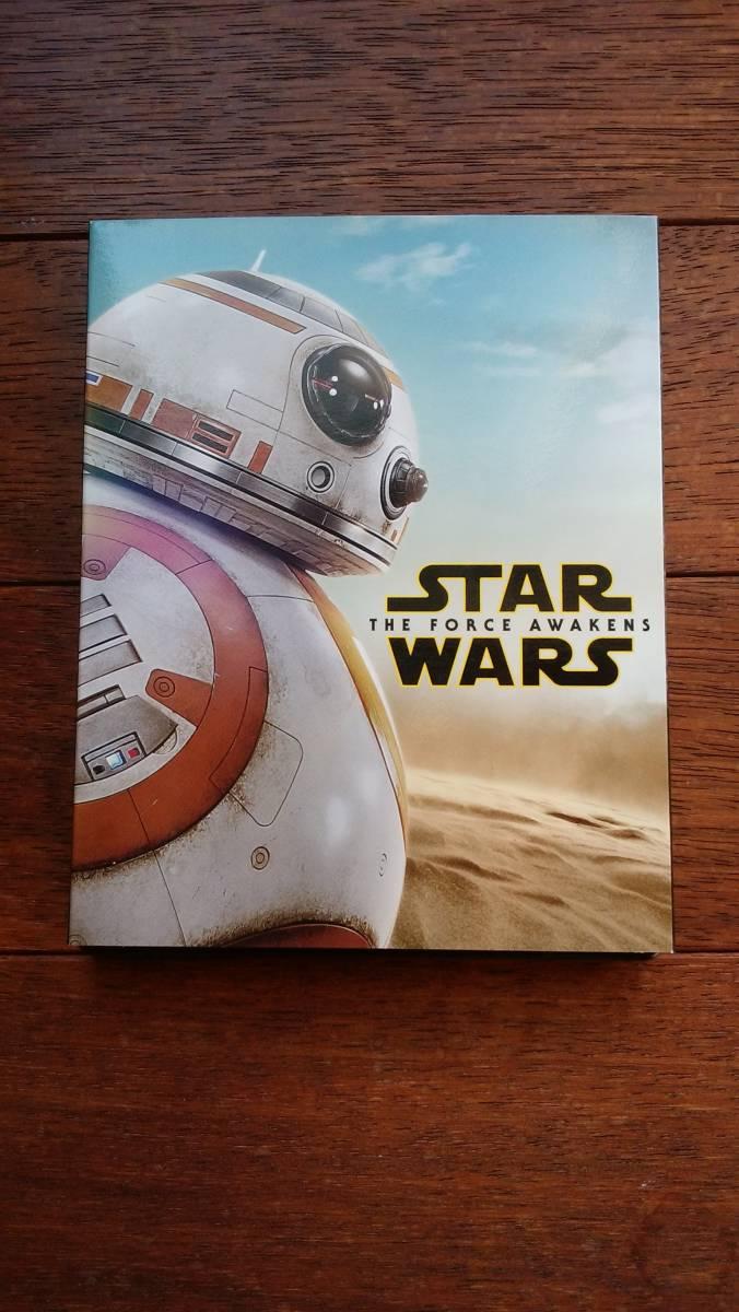 STAR WARS スターウォーズ The Force Awakens フォースの覚醒 ブルーレイ & DVD 3枚組