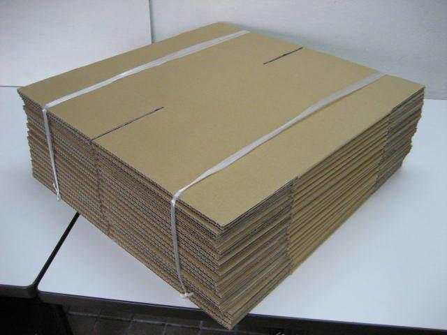ダンボール 20L用 100サイズ 20枚 幅300×奥行315×高さ285 段ボール ダンボール箱 【M-D-05】_画像2