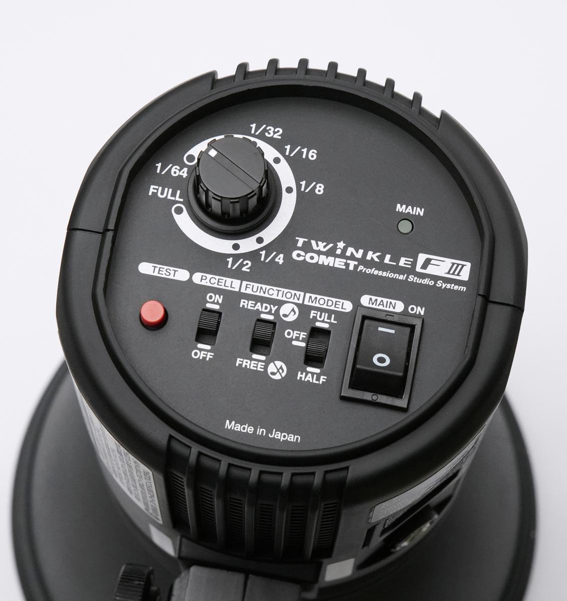 COMET コメット TWINKLE 04F III + CX-Cリフレクター テスト発光のみ美品_画像4