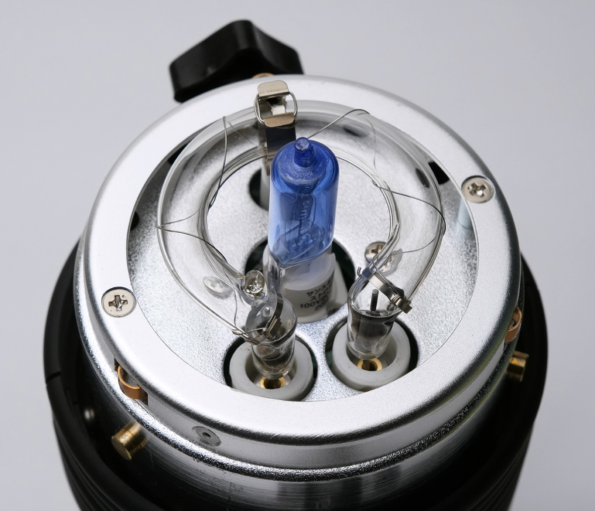 COMET コメット TWINKLE 04F III + CX-Cリフレクター テスト発光のみ美品_画像5