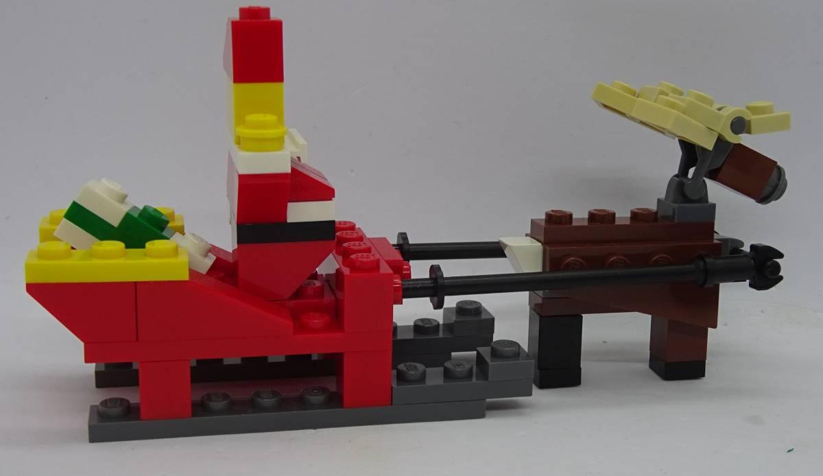 レゴ/LEGO クリエイター/Creater サンタとトナカイセット オマケ多数 40010_画像5