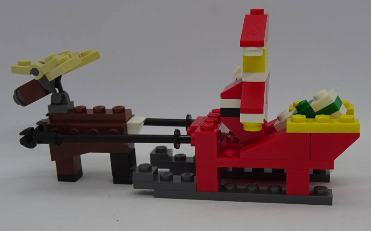 レゴ/LEGO クリエイター/Creater サンタとトナカイセット オマケ多数 40010_画像6
