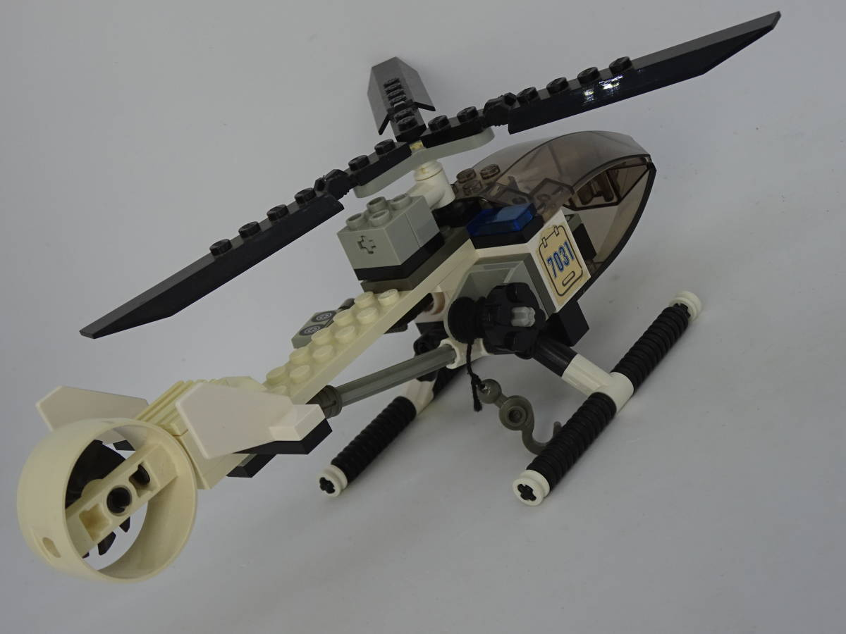 レゴ/LEGO City/シティ ワールドシティ ポリスヘリコプター 7031_画像4