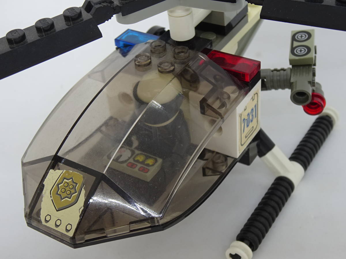 レゴ/LEGO City/シティ ワールドシティ ポリスヘリコプター 7031_画像6