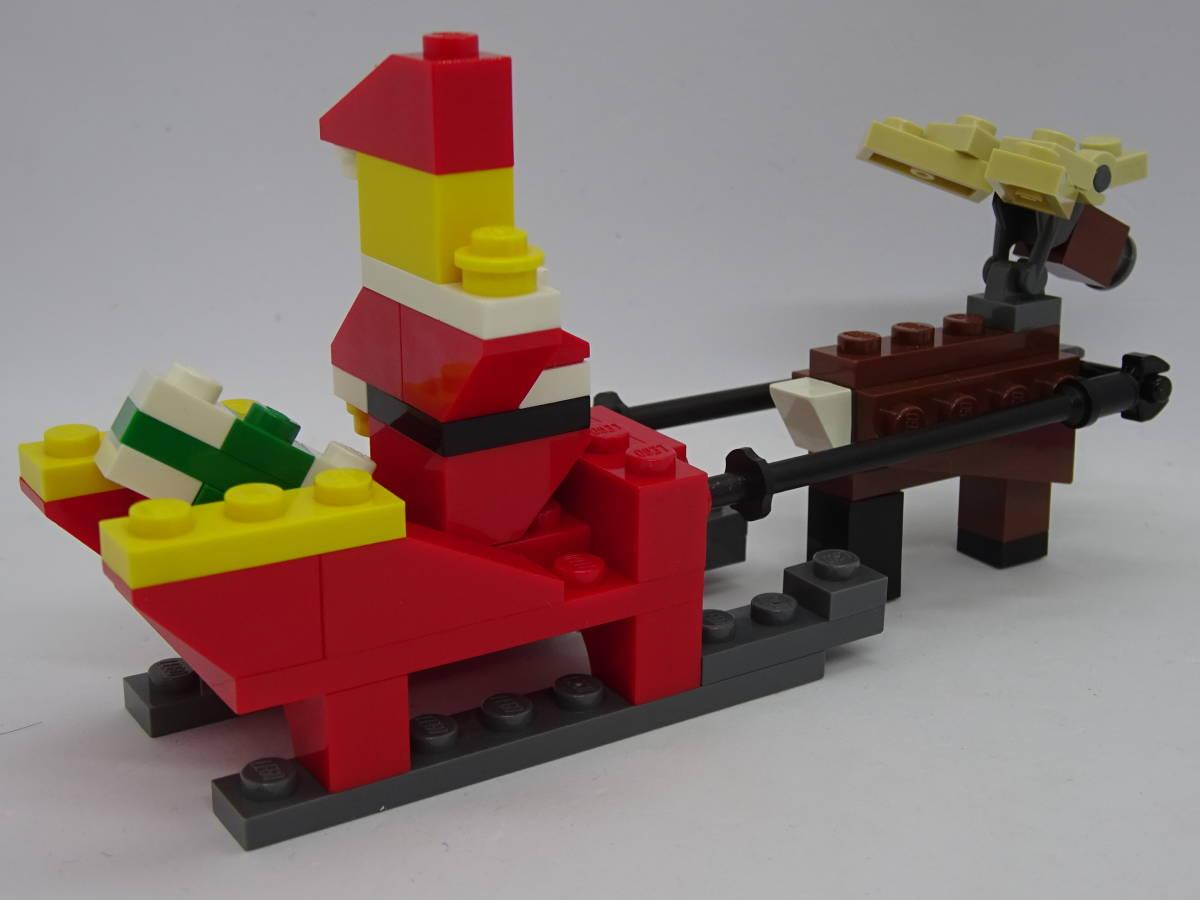 レゴ/LEGO クリエイター/Creater サンタとトナカイセット オマケ多数 40010_画像4