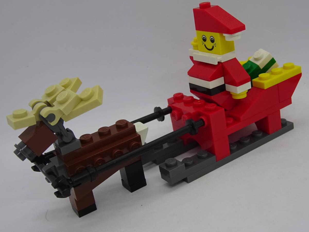 レゴ/LEGO クリエイター/Creater サンタとトナカイセット オマケ多数 40010_画像3