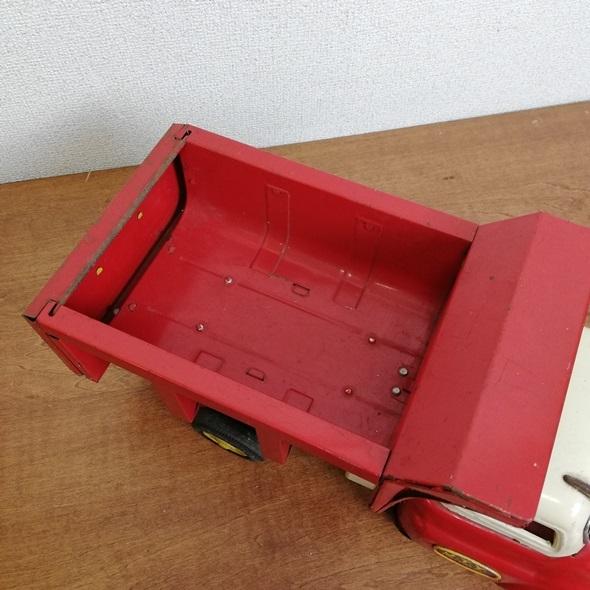 【 当時物 米澤玩具 ヨネザワ 】 日本製 ブリキ GMC トラック フリクション■レトロ ヴィンテージ ビンテージ JAPAN 昭和_画像6
