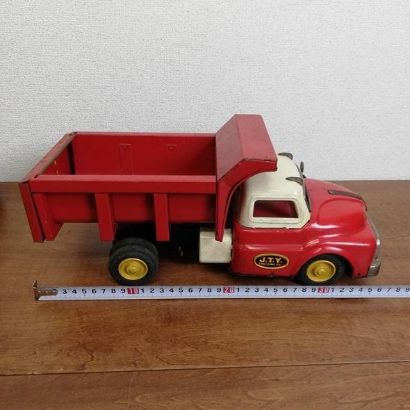 【 当時物 米澤玩具 ヨネザワ 】 日本製 ブリキ GMC トラック フリクション■レトロ ヴィンテージ ビンテージ JAPAN 昭和_画像10