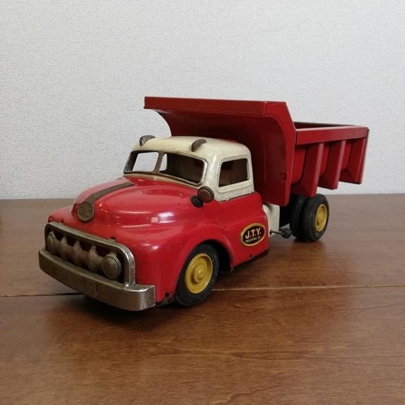 【 当時物 米澤玩具 ヨネザワ 】 日本製 ブリキ GMC トラック フリクション■レトロ ヴィンテージ ビンテージ JAPAN 昭和_画像1