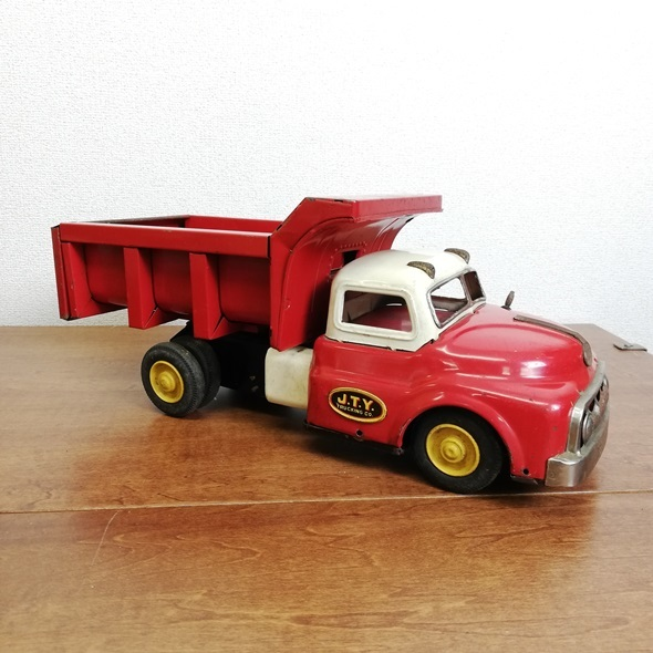 【 当時物 米澤玩具 ヨネザワ 】 日本製 ブリキ GMC トラック フリクション■レトロ ヴィンテージ ビンテージ JAPAN 昭和_画像5