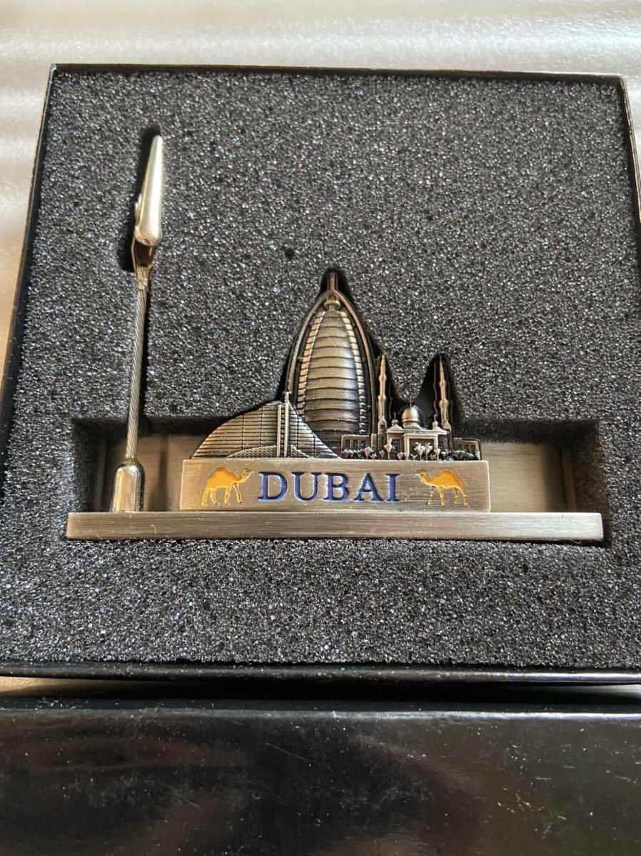 新品未使用品 ドバイ メモクリップ お土産 飾り物 コレクション 海外 外国 オブジェ アンティーク DUBAI_画像2