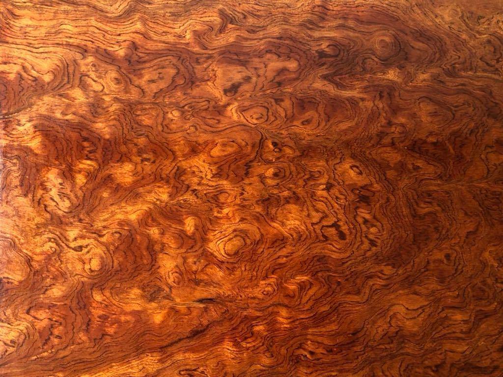 【Aiwon】特別出品■上杢逸品■瘤杢玉杢無垢一枚板/乱杢/座卓/天板厚4.5cm/H33 W120 D73.5cm/和家具/ローテーブル/看板素材/天板素材/欅_画像10