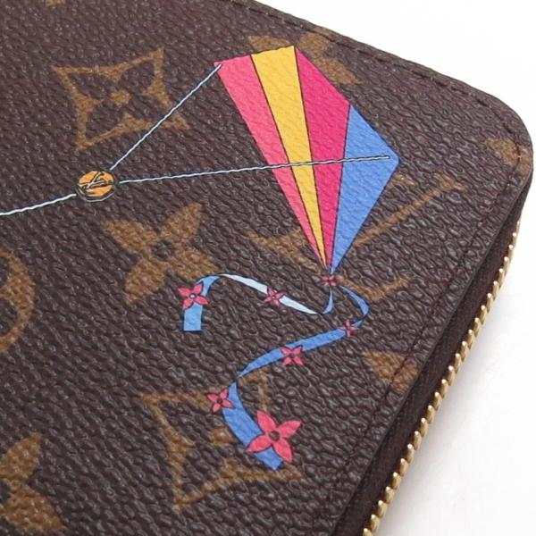 新品 未使用 日本限定ルイヴィトン モノグラム ジッピーウォレット 長財布 M69054 LOUIS VUITTON 凧 ヴィヴィエンヌ_画像6