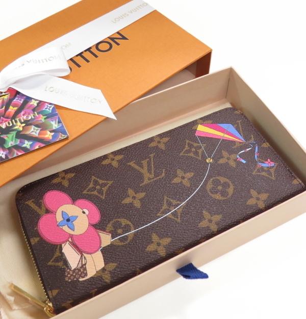 新品 未使用 日本限定ルイヴィトン モノグラム ジッピーウォレット 長財布 M69054 LOUIS VUITTON 凧 ヴィヴィエンヌ_画像3