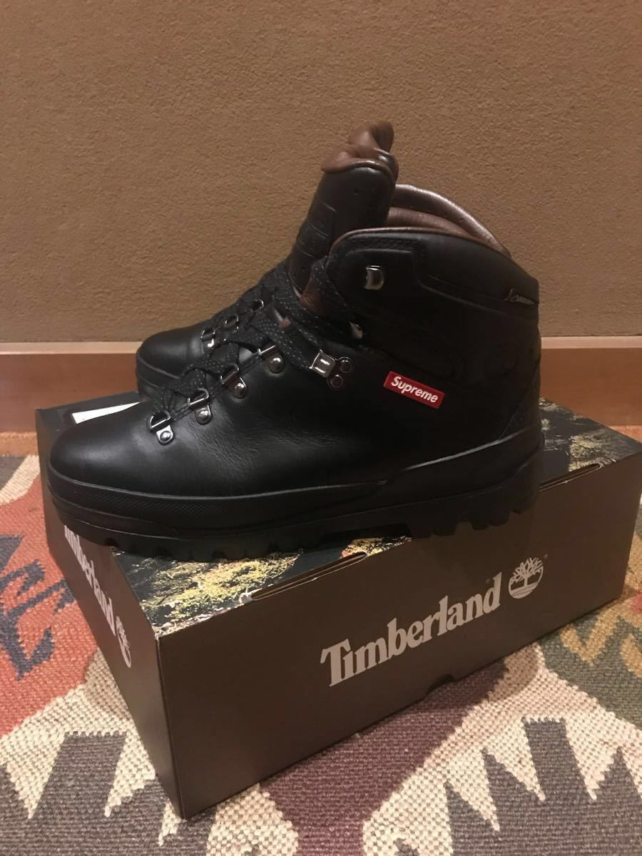 supreme x Timberland 18FW World Hiker Front Country Boot トレッキングブーツ 27cm 黒