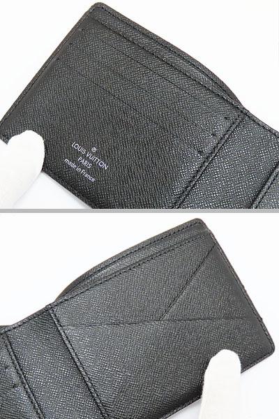 超美品 ルイヴィトン ダミエグラフィット ポルトフォイユ ミュルティプル 二つ折り札入れ財布 コンパクト財布 N62663_画像7