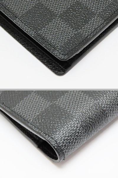 超美品 ルイヴィトン ダミエグラフィット ポルトフォイユ ミュルティプル 二つ折り札入れ財布 コンパクト財布 N62663_画像5