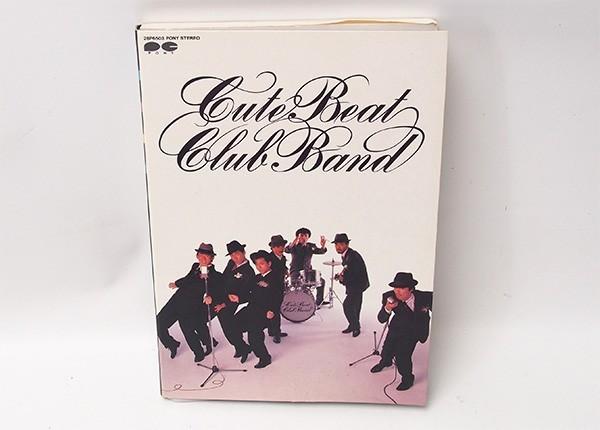 限定版 CUTE BEAT CLUB BAND 親愛なるジョージ・スプリングヒル・バンド様 チェッカーズ カセットテープ 管10860_画像1