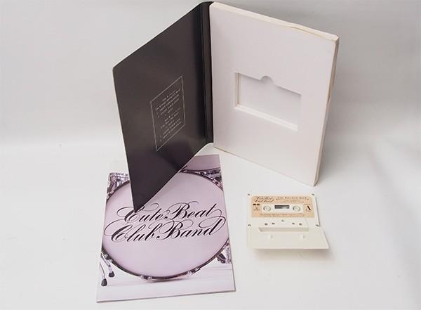 限定版 CUTE BEAT CLUB BAND 親愛なるジョージ・スプリングヒル・バンド様 チェッカーズ カセットテープ 管10860_画像2