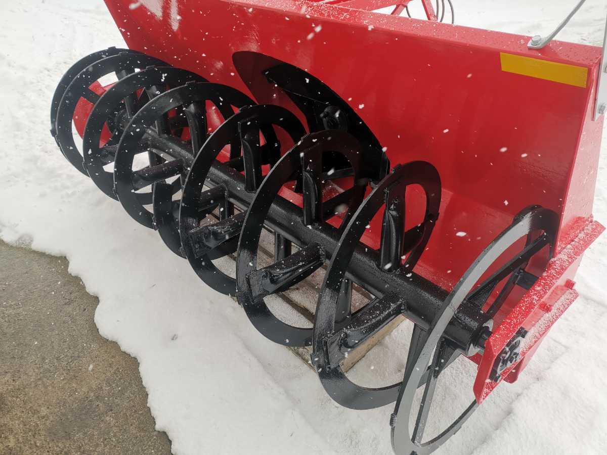 ワドー スノーブロワー ST2100u 除雪機 北海道札幌近郊より 除雪車 トラクター タカキタ スノーラッセル_画像4