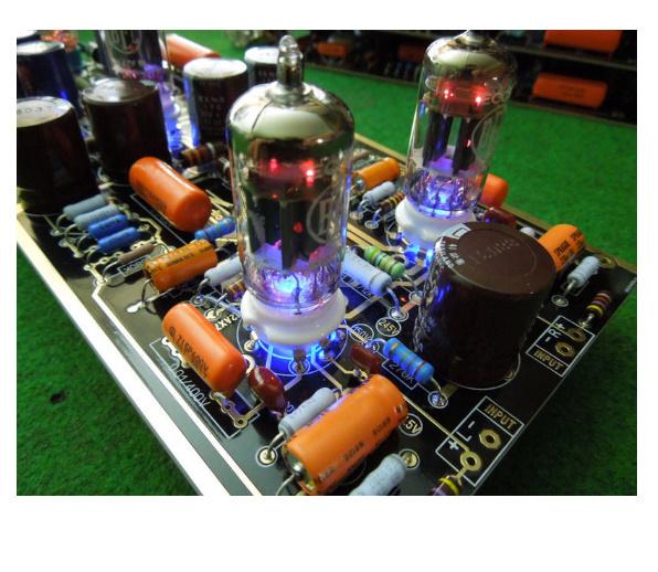 B2031 ハイエンド M7 真空管フォノ Riaa LP ターンテーブルプリアンプ 組み立てボード (チューブなし)_画像5