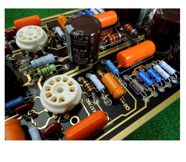 B2031 ハイエンド M7 真空管フォノ Riaa LP ターンテーブルプリアンプ 組み立てボード (チューブなし)_画像4