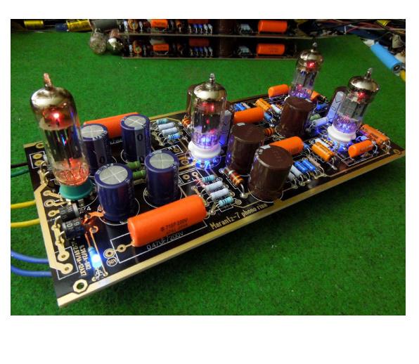 B2031 ハイエンド M7 真空管フォノ Riaa LP ターンテーブルプリアンプ 組み立てボード (チューブなし)_画像2