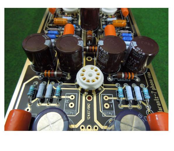B2031 ハイエンド M7 真空管フォノ Riaa LP ターンテーブルプリアンプ 組み立てボード (チューブなし)_画像3