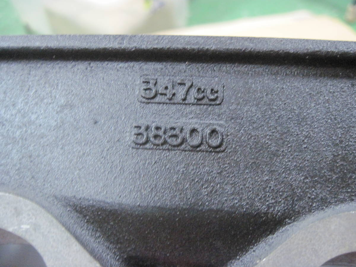 即決 TZ350[383]鉄フレームレーサー用未使用シリンダー&ピストン他 検索 TZ250_画像4