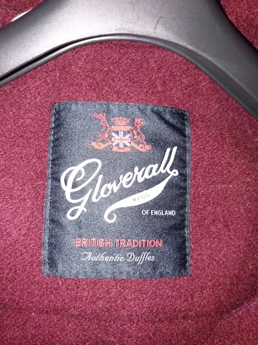 グローバーオール gloverall ダッフルコート MONTY 34 ワイン 英国製