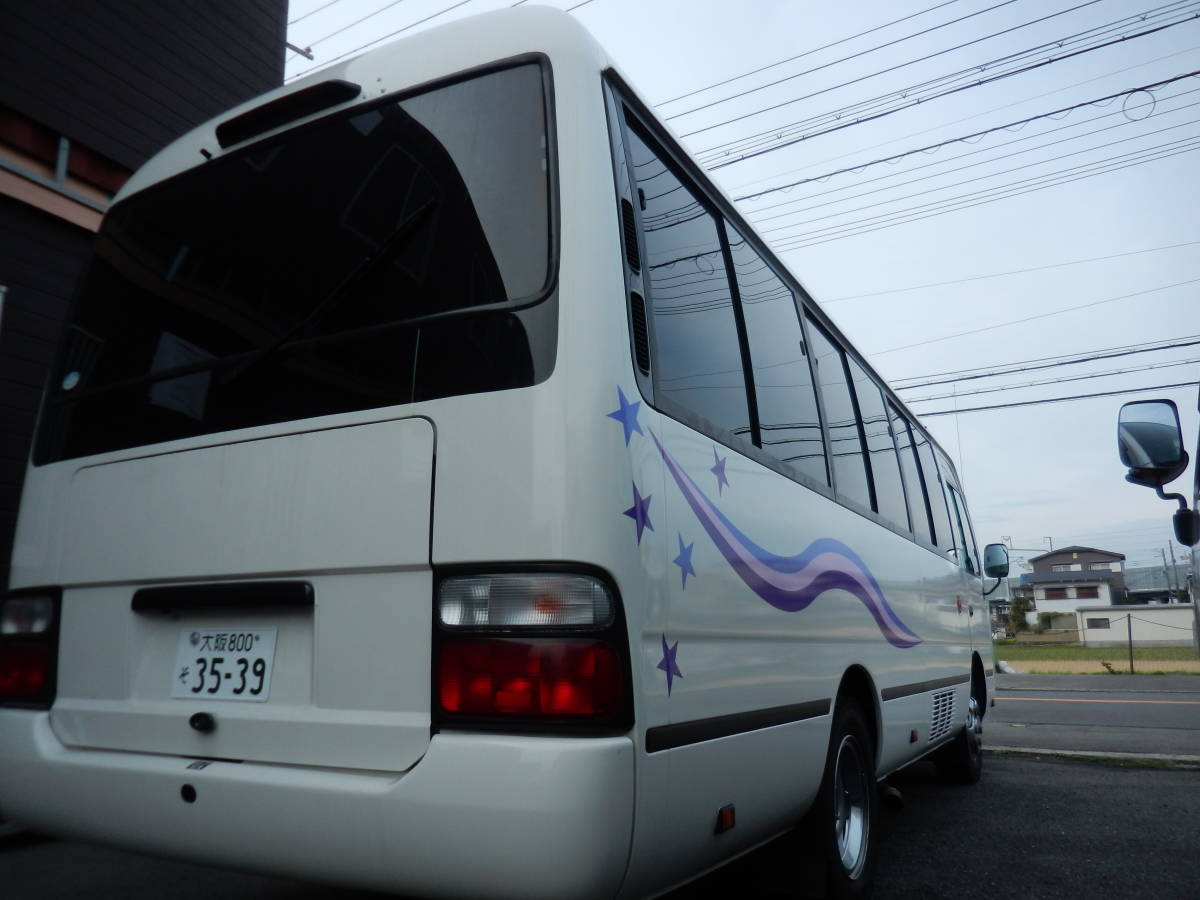 「◆3278◆平成22年 トヨタ コースター キャンピング仕様 10人乗り レカロシート☆普通免許で運転可能☆」の画像1