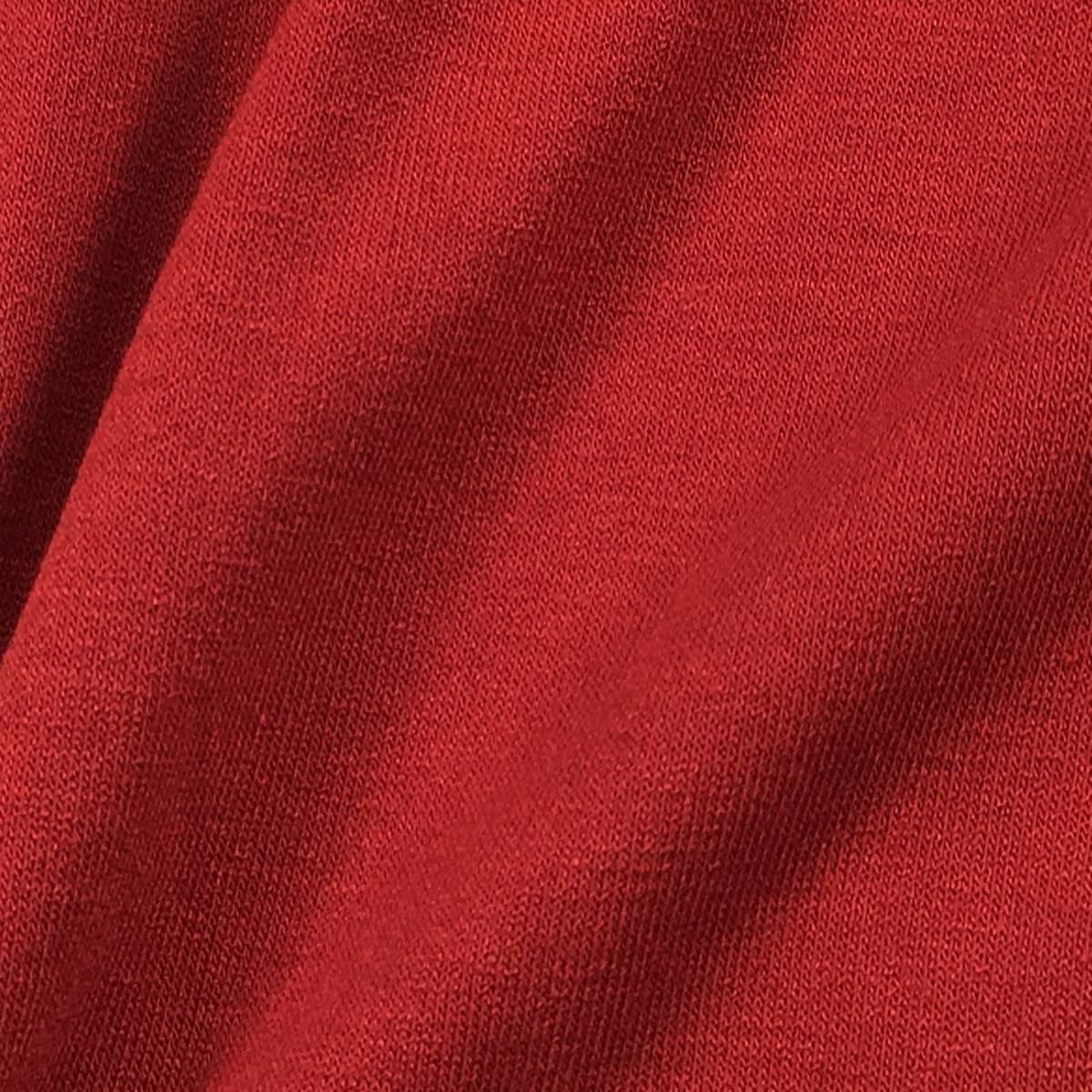 新品/オールシーズン使える◎【23区GOLF・23区ゴルフ】極ストレッチ素材◎ハイネック/長袖カットソー・シャツ 深みレッド(赤)LL メンズ k13_画像3