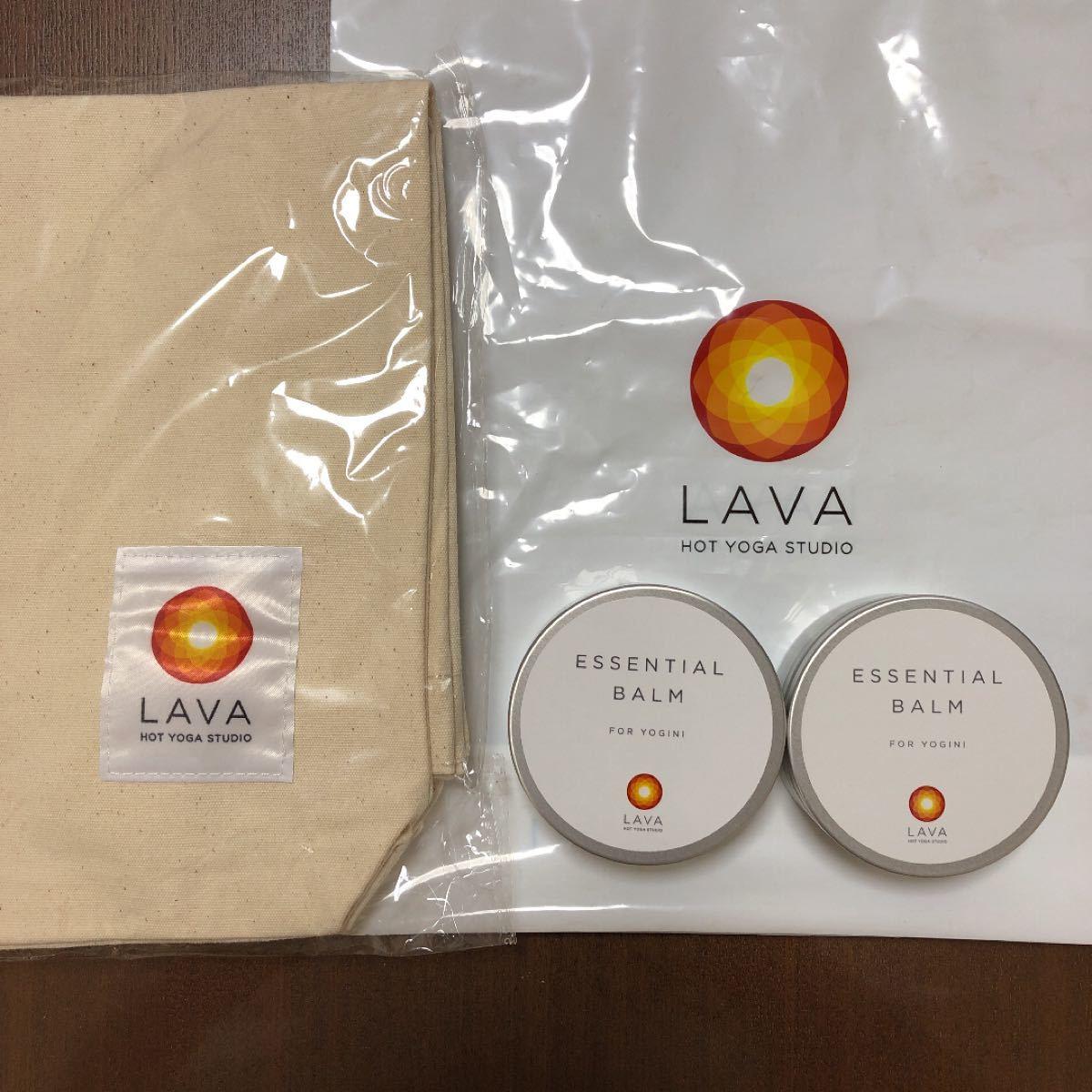 LAVA バーム 2個 トートバッグ