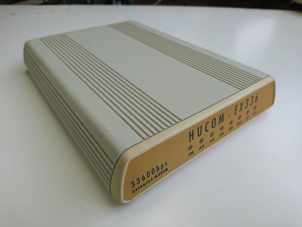 HUCOM EX336 データ&FAXモデム 33600bps_画像2