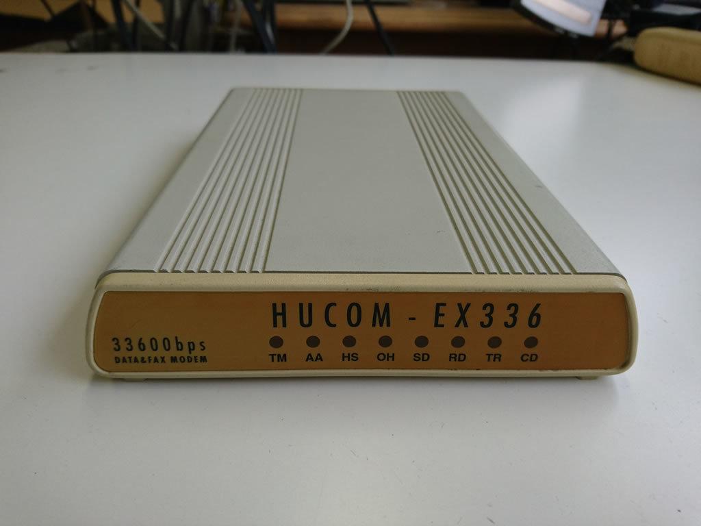 HUCOM EX336 データ&FAXモデム 33600bps_画像1