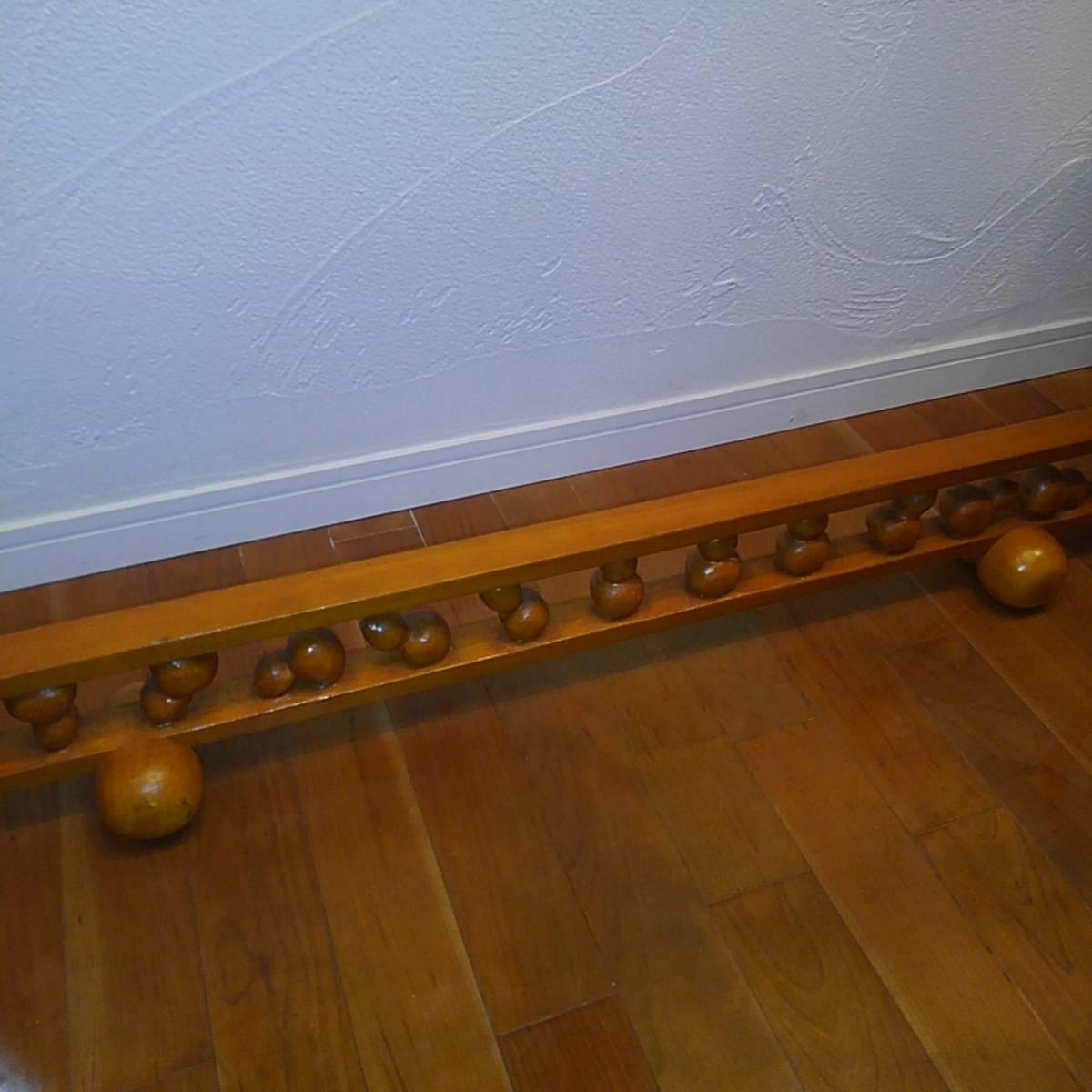 ◆幸◆ 木彫り 結界 瓢箪 約104.5cm×14cm(高さ)×12cm(奥行)_画像6