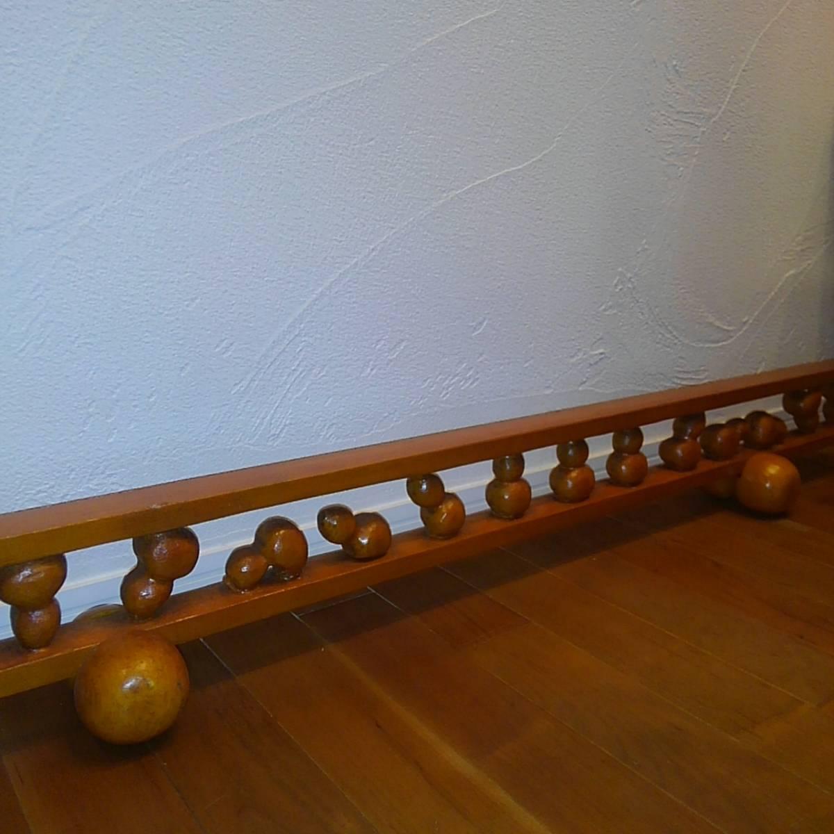◆幸◆ 木彫り 結界 瓢箪 約104.5cm×14cm(高さ)×12cm(奥行)_画像7