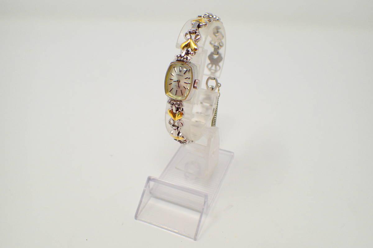 ●SEIKO 11-3410 21Jewel 腕時計 手巻 美品 徹底洗浄 _画像3
