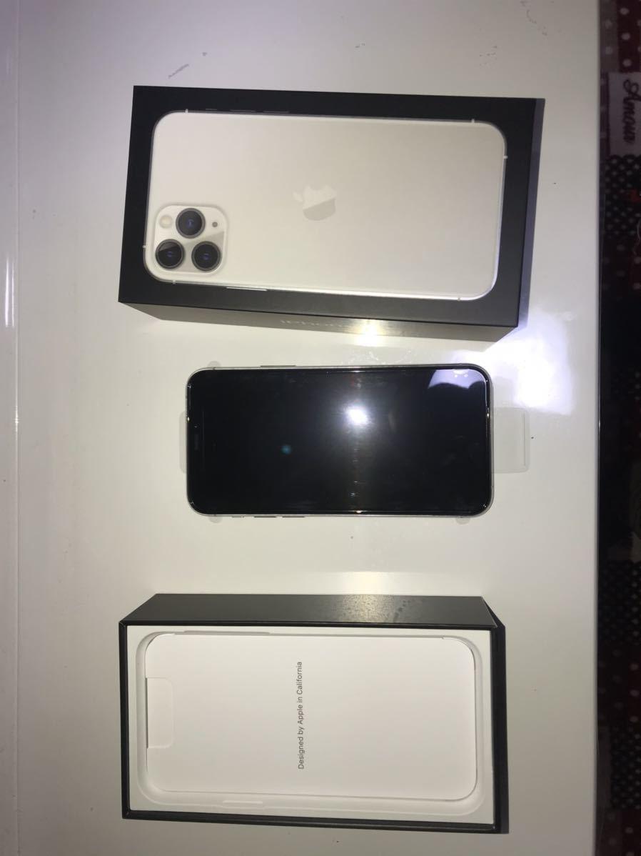 新品未使用 iPhone11pro 256GB au 利用制限保証付 1円スタート_画像2
