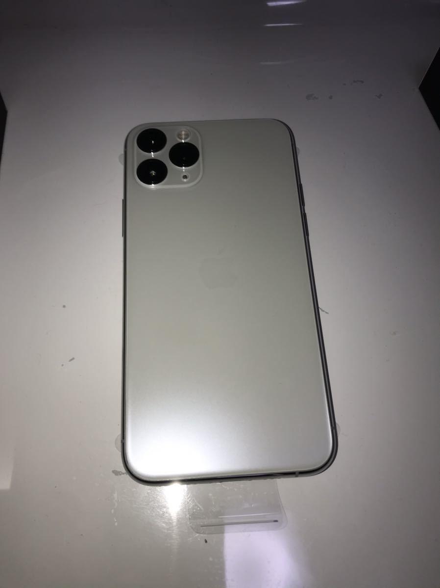 新品未使用 iPhone11pro 256GB au 利用制限保証付 1円スタート_画像4