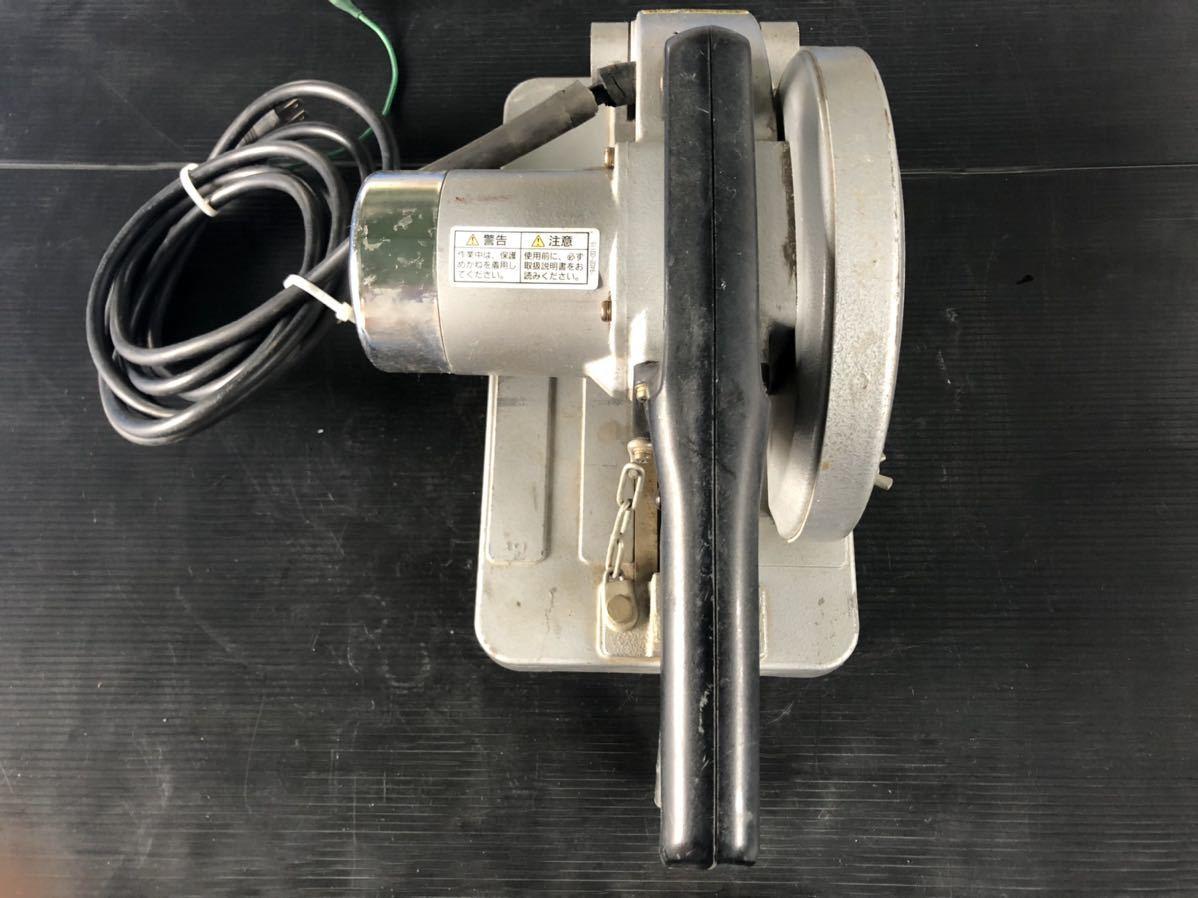 『送料込み』新ダイワ shindaiwa チップソーカッター LA66 180φ 100V チップソー付 (中古品) 切断機 電動工具 鉄鋼_画像3