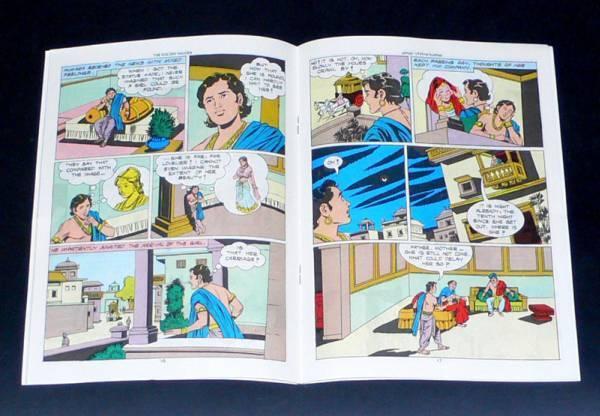 インドの漫画 The Acrobat 英語版 アジアン雑貨 エスニック_画像2