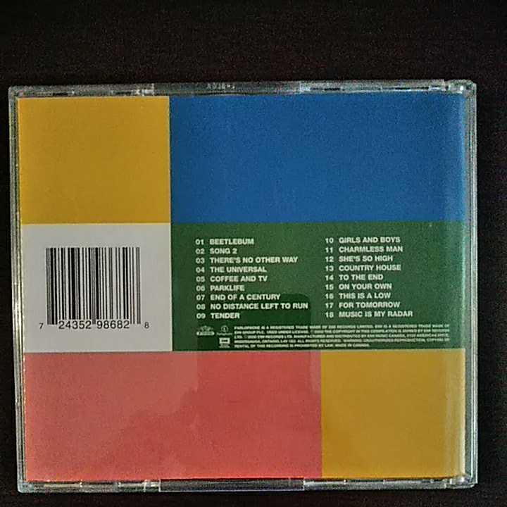 CD ブラーblur the best of 2枚組